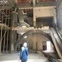 Visiting a ruined building in Homs 2018 - Source Majd Murad
