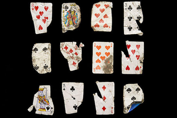 griot mag dzhangal the objects of calais shot by gideon mendel twelve playing cards collected 21 may 2016