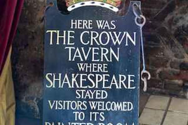 Shakespeare Painted Room