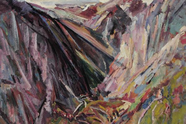 david bomberg valley of la hermida picos de europa asturias spain 1935 image courtesy museums sheffield